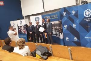 """Laureaci konkursu """"O Złoty Indeks Politechniki Śląskiej"""" 2019 - zdjęcie6"""