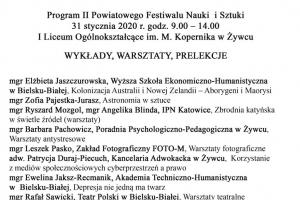 II Powiatowy Festiwal Nauki i Sztuki - zdjęcie3