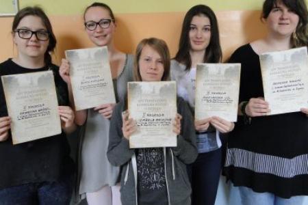 Finał XIV Powiatowego Konkursu Wiedzy o Sztuce