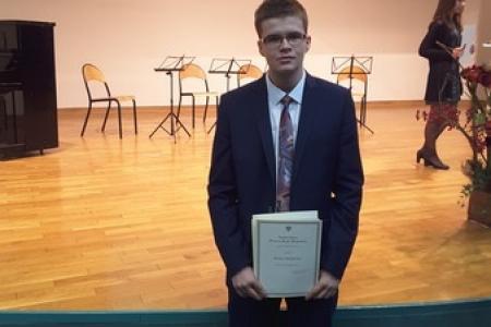 Gratulujemy Bartoszowi, stypendyście Prezesa Rady Ministrów