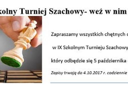 IX Turniej Szachowy